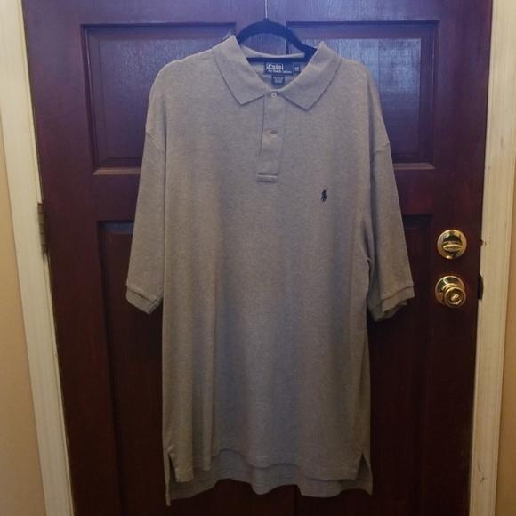 Gray Mens Polo by Ralph Lauren shirt sleeve shirt